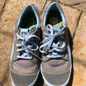 Cushe sneakers blue/gray suede trim